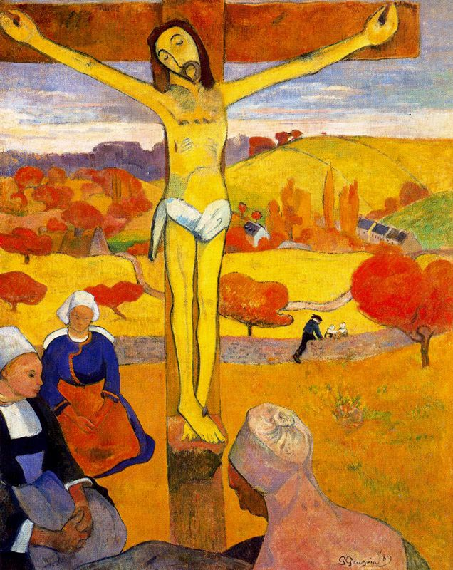 Gauguin_Yellow_Christ
