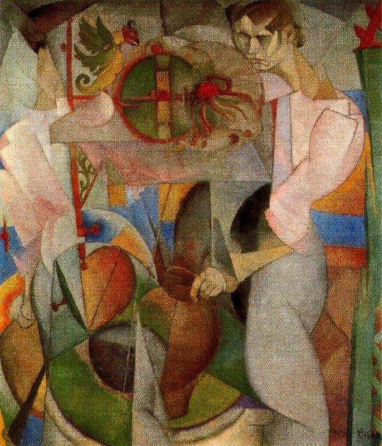 La-Mujer-del-Pozo-by-Diego-Rivera