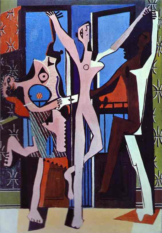 Pablo-Picasso-Three-Dancers-1925