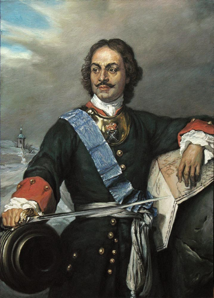 peter the great Peter the great is credited with dragging russia out of the medieval times to such an extent that by his death in 1725, russia was considered a leading eastern.