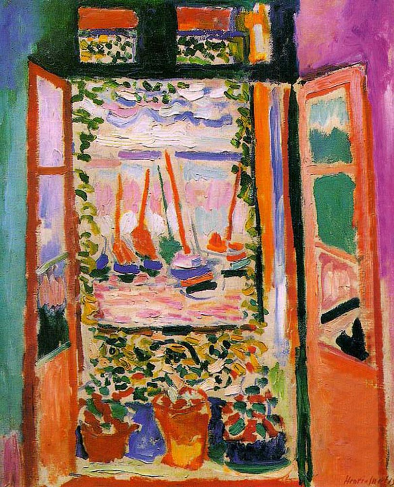 the open window by henri matisse facts history of the painting the open window by henri matisse