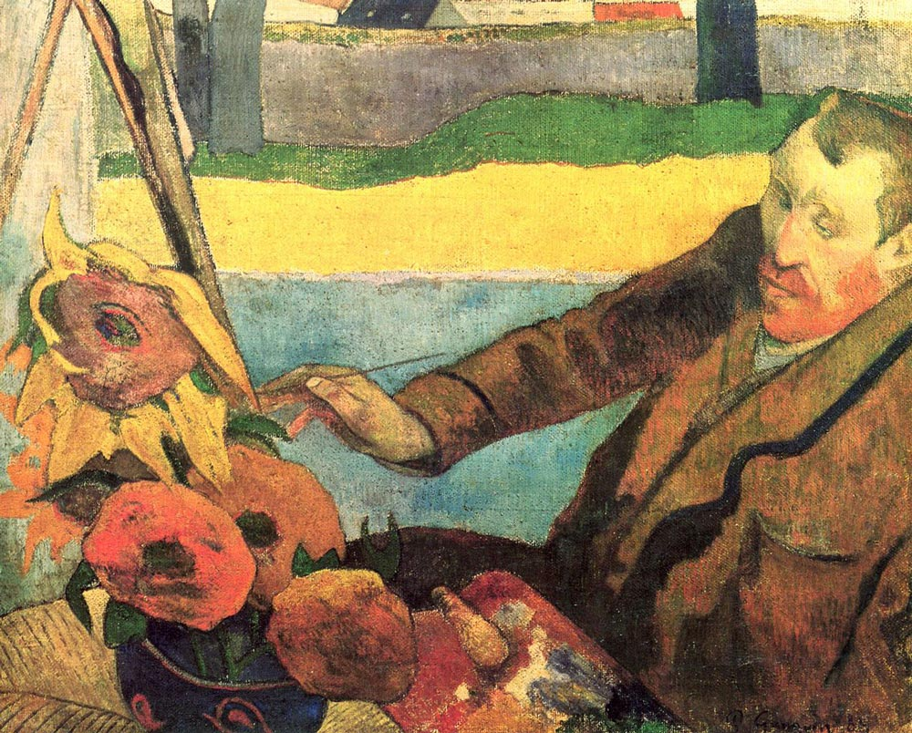 The-Painter-of-Sunflowers-by-Paul-Gauguin
