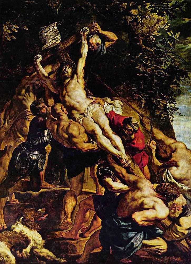the raising of the cross by peter paul rubens The raising of the cross by peter paul rubens peter paul rubens is viewed in our time as one of the masters of his period in art living in the 1600's he was vastly influenced by the baroque ideals of art and culture.