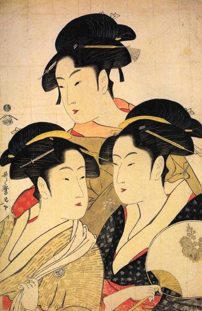 Utamaro_Three_Women_Print