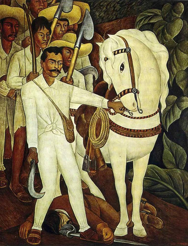 agrarian-leader-zapata-diego-rivera