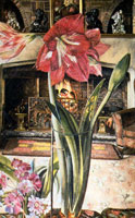 amaryllis-in-chauntry-court-1951-by-spencer-sm