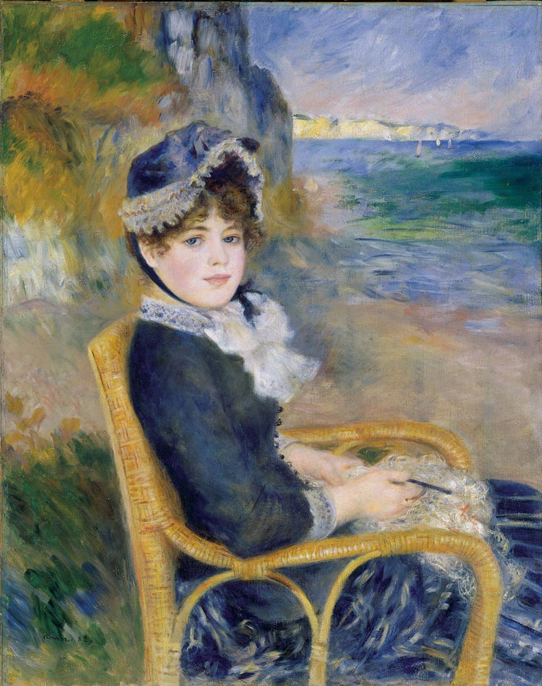 by-the-seashore-1883-renoir