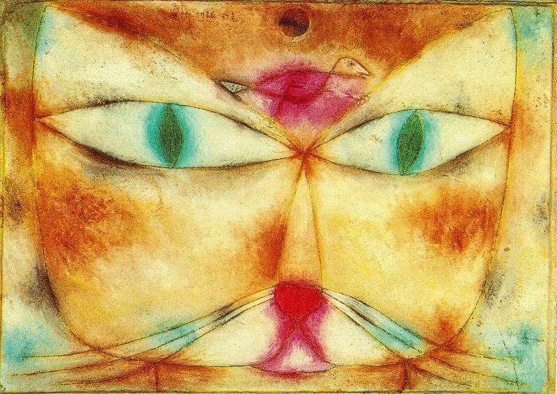 cat-and-bird-paul-klee