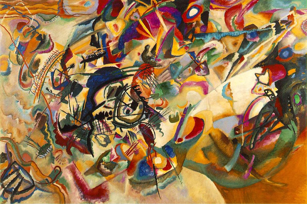 Composition VII by Wassily Kandinsky Facts & History
