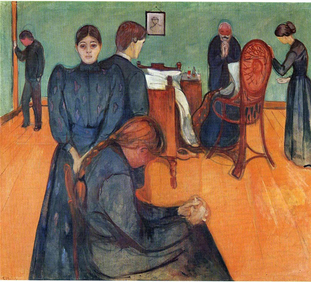 death-in-the-sickroom-edvard-munch