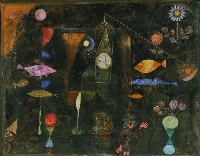 fish magic by paul klee facts history of the painting