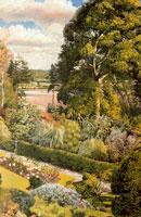 garden-view-cookham-dene-1938-by-spencer-sm