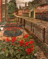 gardens-in-the-pound-cookham-1936-by-spencer-sm
