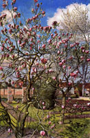 landscape-with-magnolia-1938-by-spencer-sm