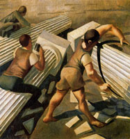 making-columns-for-the-tower-of-babel-1933-by-spencer-sm