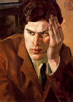 portrait-of-richar-carline-1923-by-spencer-sm