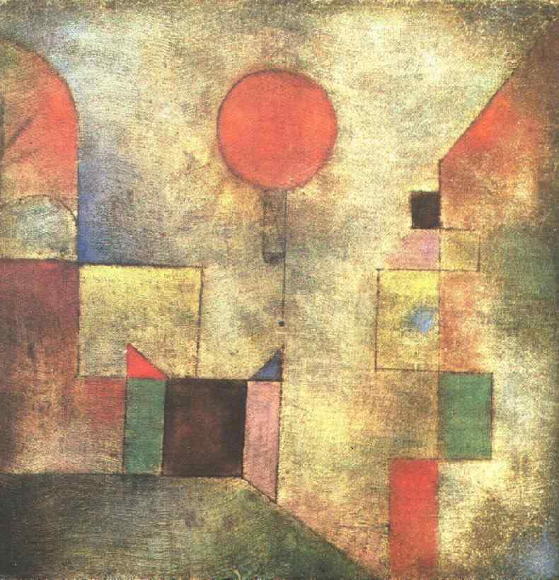 Red Balloon By Paul Klee Facts History Of The Painting
