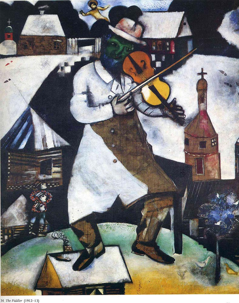 The Fiddler by Marc Chagall – Facts & History of the Painting Chagall Crucifixion