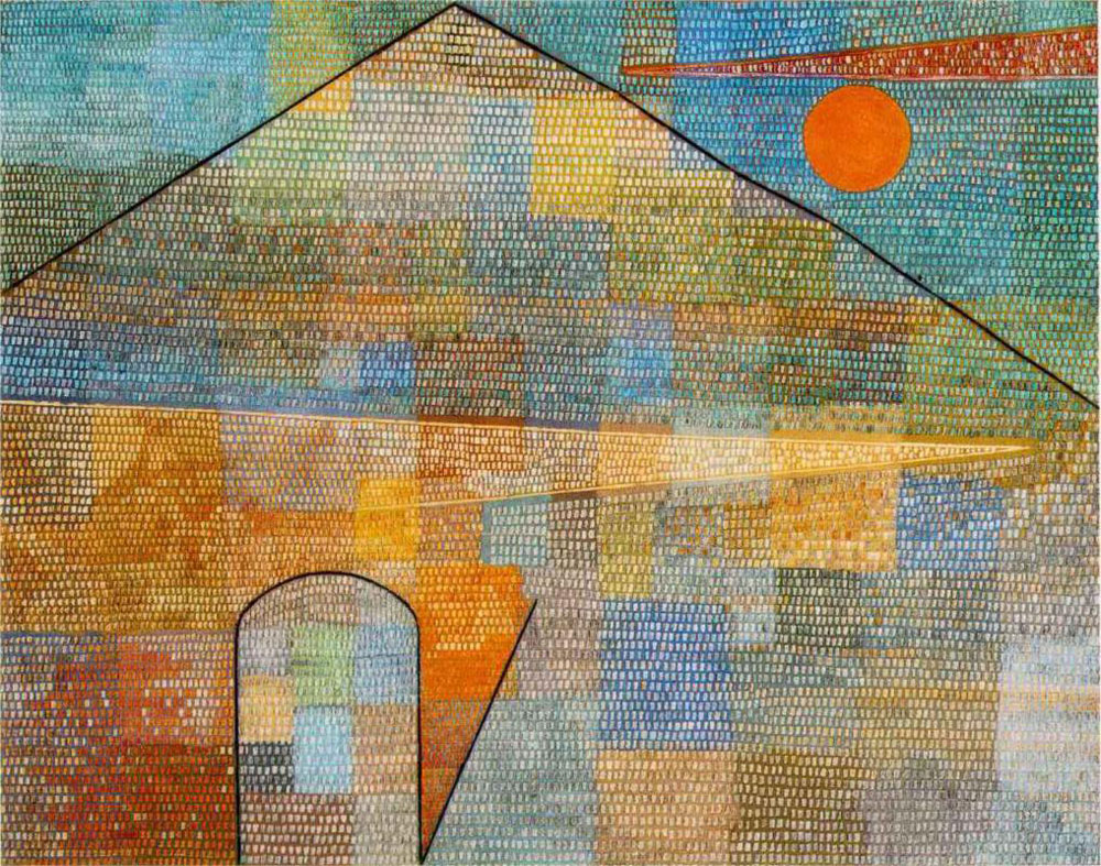 Twittering Machine >> Ad Parnassum by Paul Klee - Facts & History of the Painting