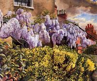 wisteria-cookham-1942-by-spencer-sm