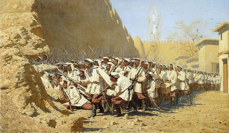 At-the-city-wall.-Let-them-enter!-Vereshchagin