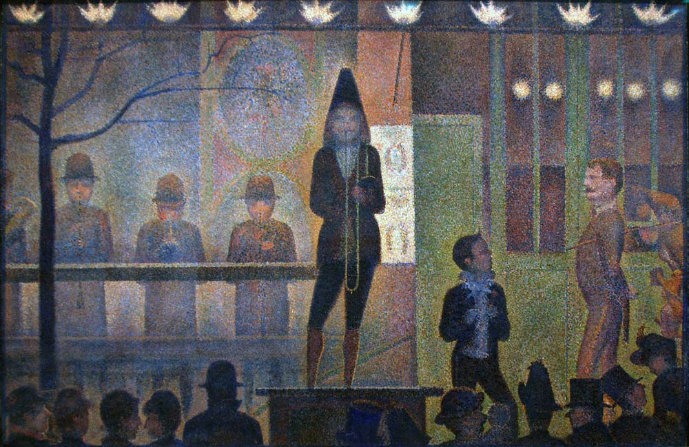 Circus-Sideshow-by-Georges-Seurat