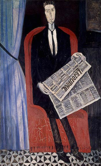 Derain_Portrait_of_a_Man_with_a_Newspaper