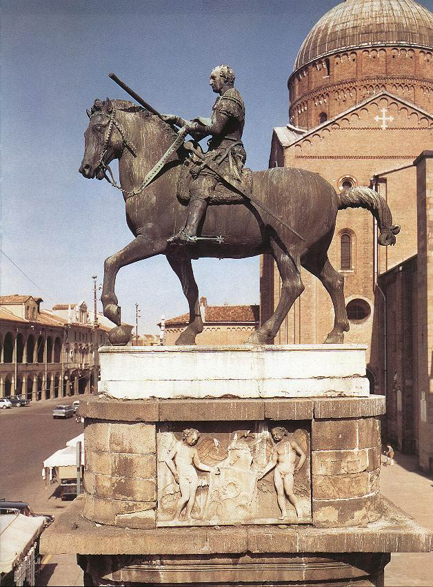 Donatello-Equestrian-Statue-of-Gattamelata