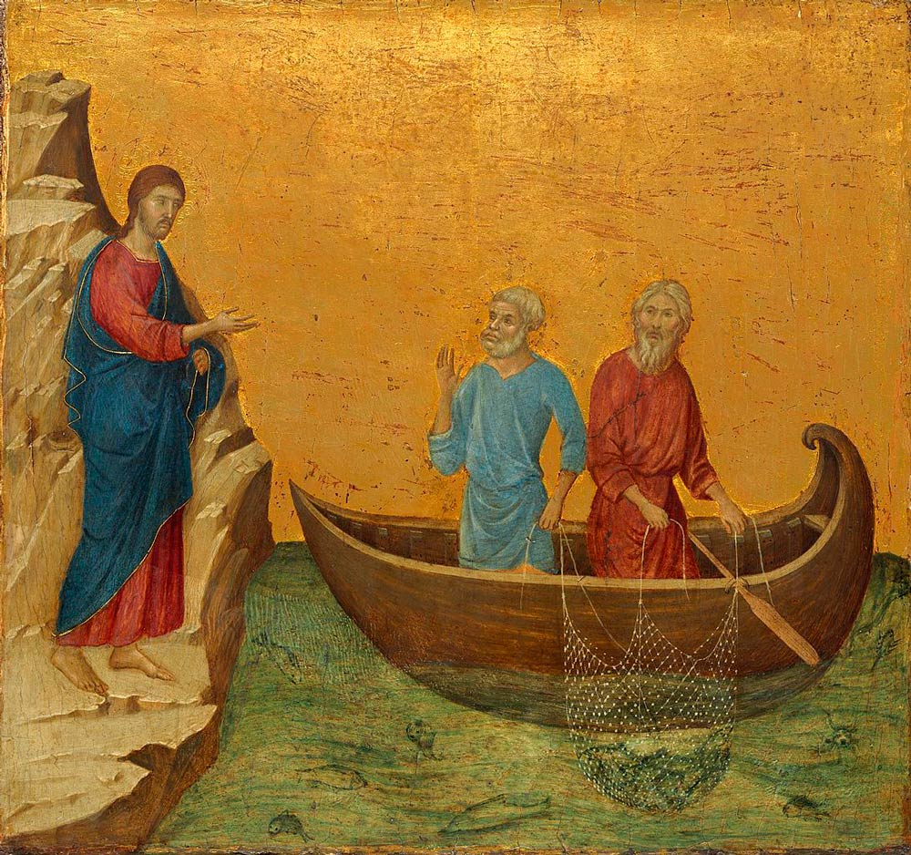 Duccio_di_Buoninsegna_The-Calling-of-the-Apostles-Peter-and-Andrew