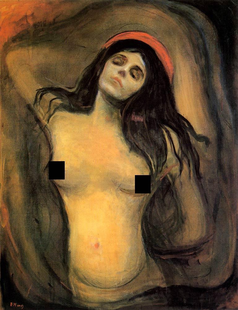 Edvard_Munch_Madonna_(1894-1895)