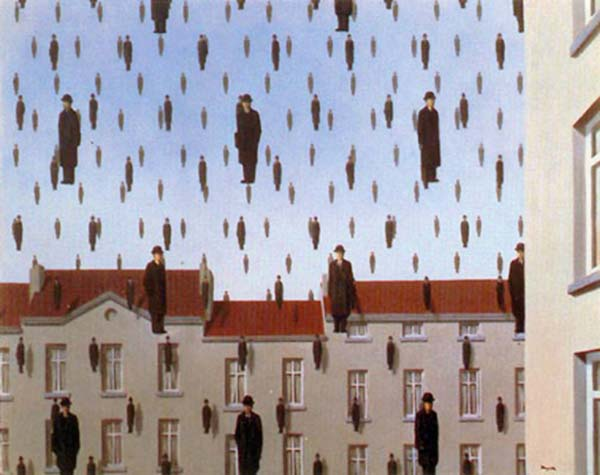 Golconda-by-Rene-Magritte