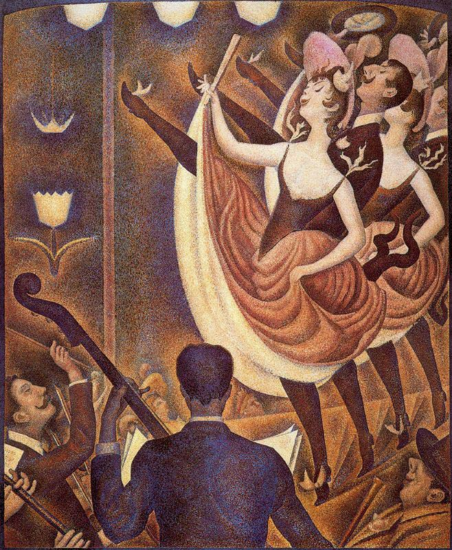 Le-Chahut-by-Georges-Seurat