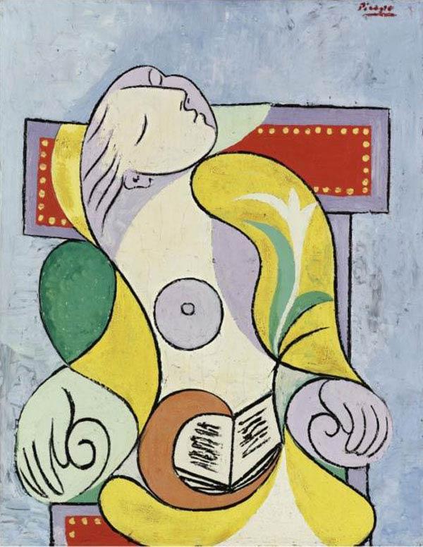 Pablo-Picasso-La-Lecture