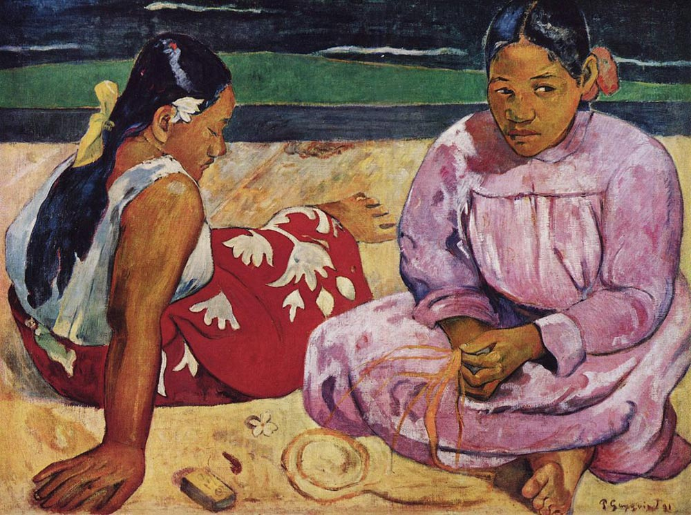 Paul_Gauguin_tahitian-women-on-the-beach