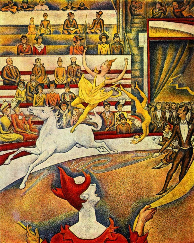 The-Circus-(by-Georges-Seurat)