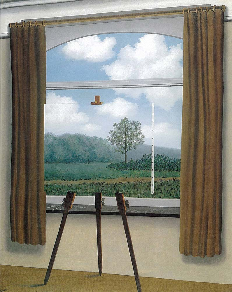 the human condition by ren atilde copy magritte facts about the painting the human condition