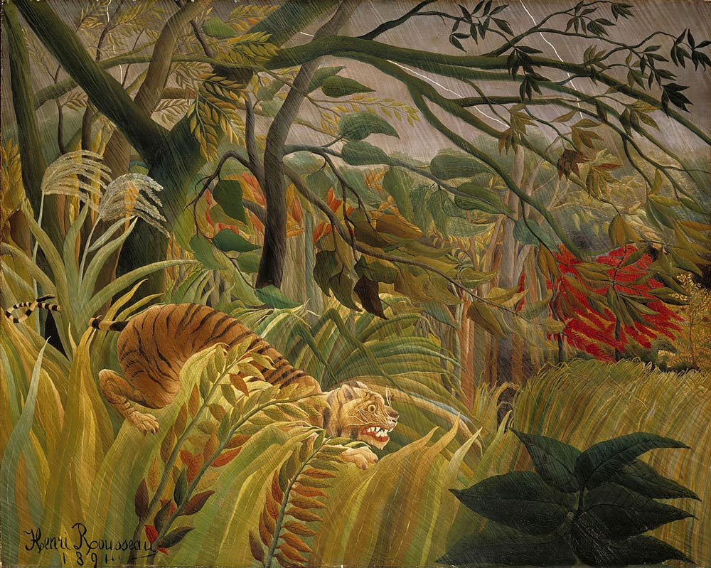 Tiger-in-a--Tropical-Storm-Rousseau
