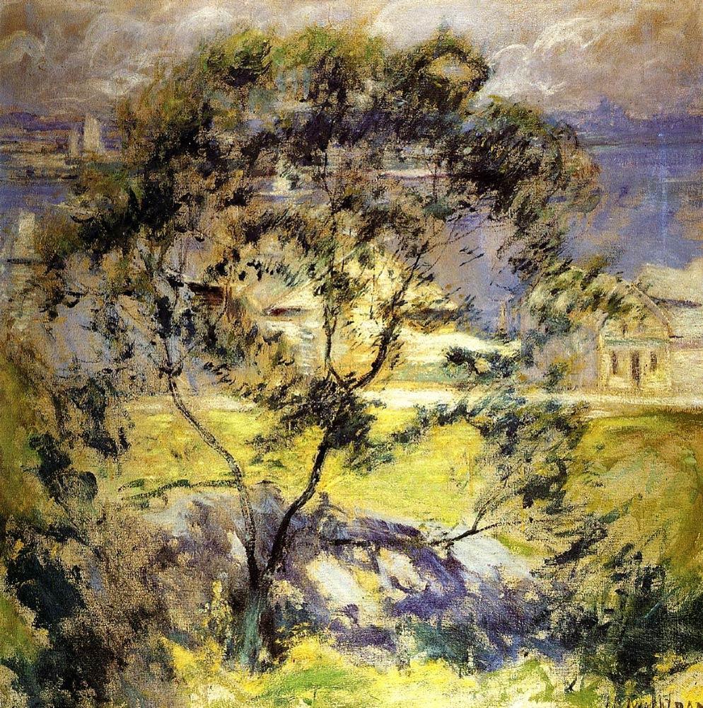 Wild_Cherry_Tree_John_Twachtman_c.1901