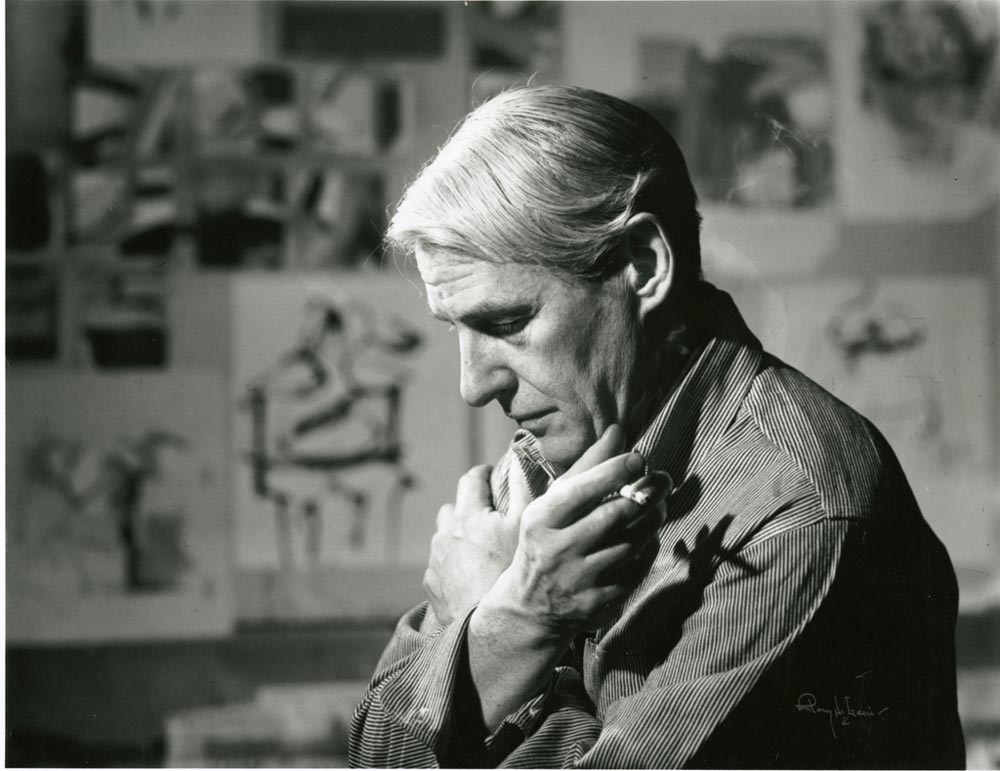 Willem_de_Kooning_in_his_studio