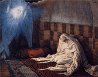 annunciation-illustration-for-the-life-of-christ-by-james-sm