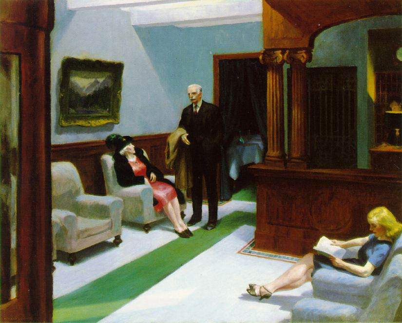 Hotel Foyer Meaning : Hotel lobby by edward hopper facts history of the painting