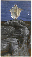 jesus-goes-up-alone-onto-a-mountain-to-pray-1894-by-james-sm