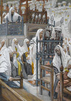 jesus-unrolls-the-book-in-the-synagogue-1894-by-james-sm
