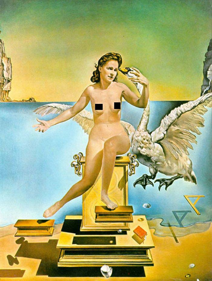 surrealism in leda atomica painted by salvador dali Overview salvador dalí breton felt that dalí lent a new direction to surrealism and is reflected in his leda atomica.