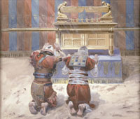 moses-and-joshua-in-the-tabernacle-by-james-sm