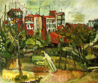 suburban-landscape-with-red-houses.-by-chaim-sm