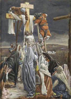 the-descent-from-the-cross-illustration-for-the-life-of-christ-by-james-sm