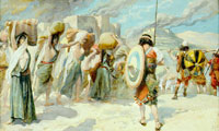 the-women-of-midian-led-captive-by-the-hebrews-1900-by-james-sm