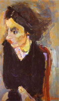 woman-in-profile-portrait-of-madame-tennent-by-chaim-sm