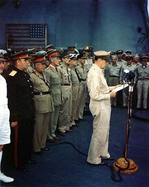 Allied-members-Japanese-surrender